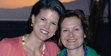 Mary Ann Mills and Renee Gardner